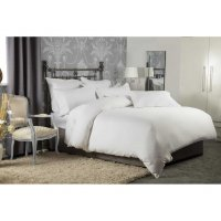 1200 Thread Count Cotton Fitted Sheet in White or Platinum