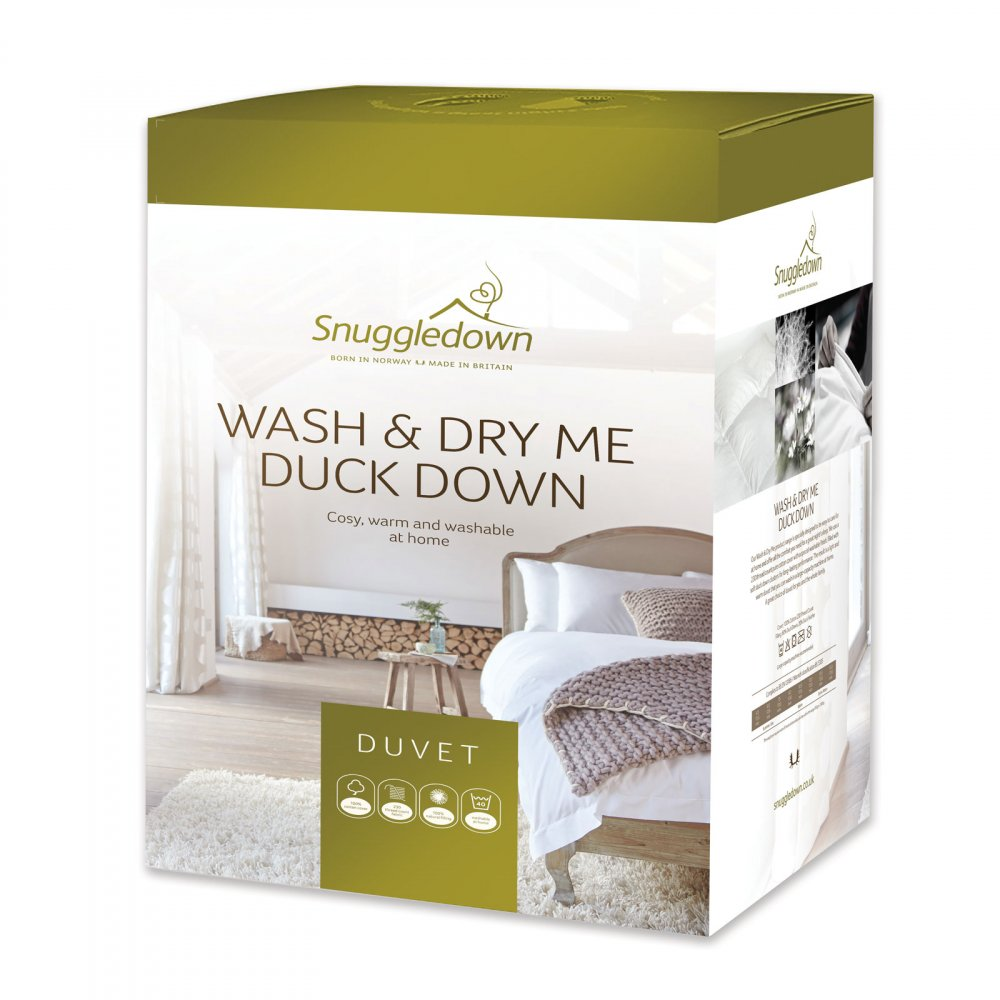 13.5 tog Snuggledown Duck Down Duvets & Pillows