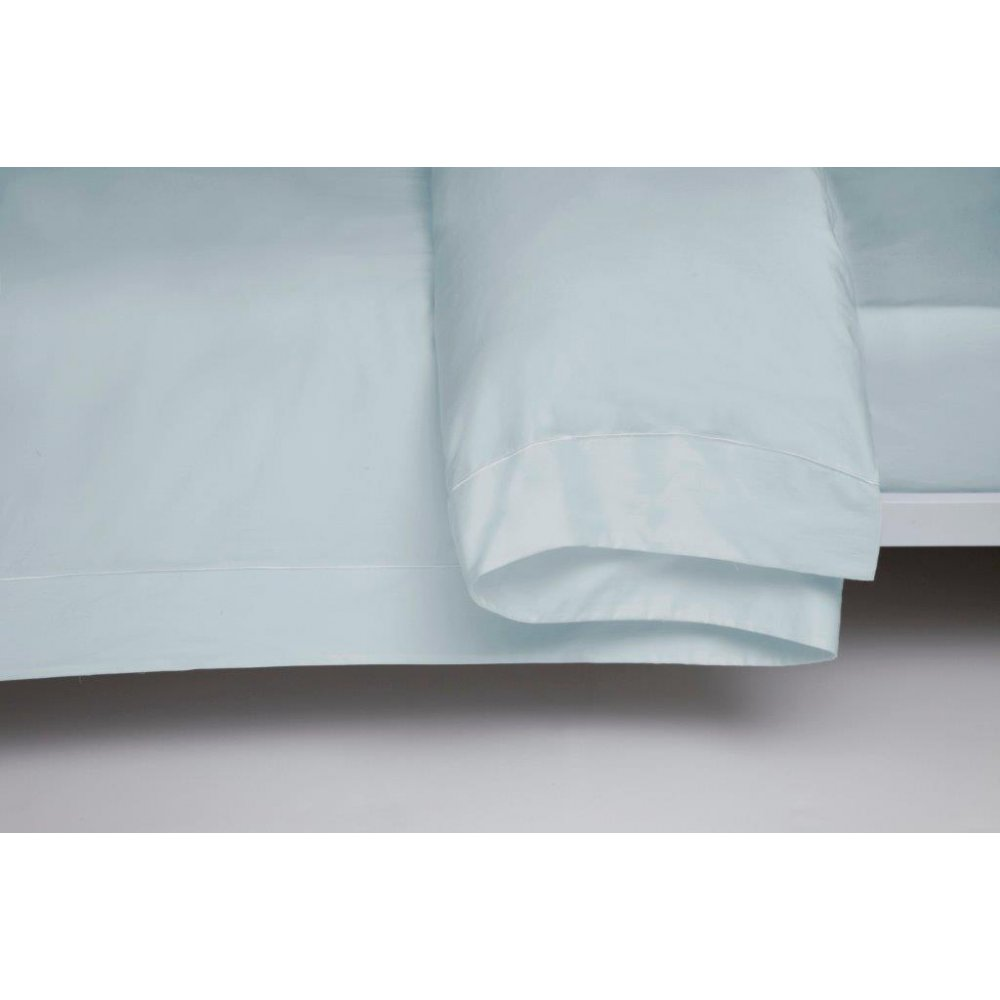 400 Thread Count Egyptian Cotton Duvet Cover in Duck Egg Blue