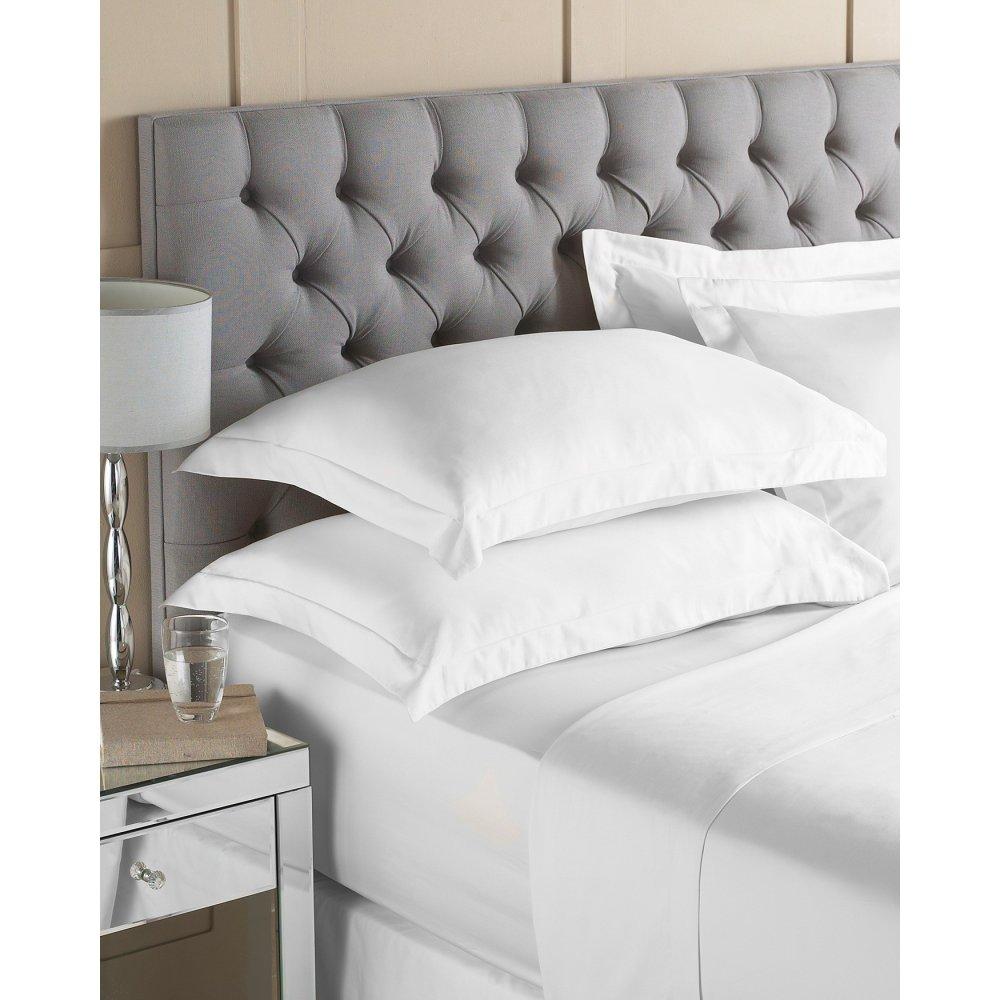 100 Cotton Bed Linen Fitted Sheet Flat Sheet