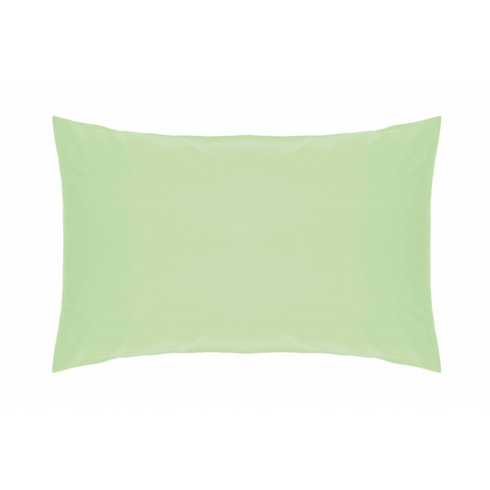 200 Thread Count Pure Combed Cotton Bed Linen In Mint Green