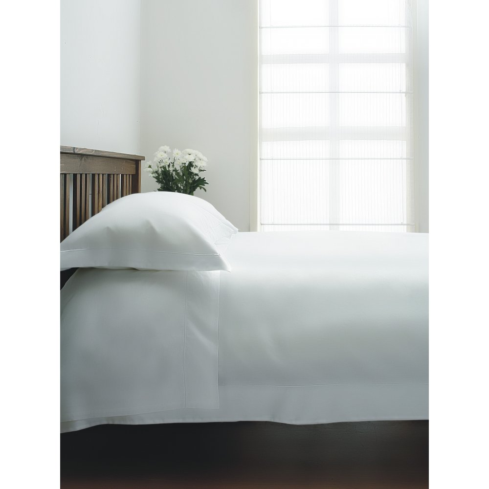 400 Thread Count Egyptian Cotton Duvet Cover in White