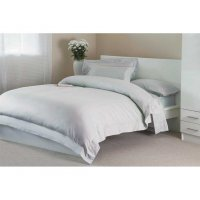 400 Thread Count Egyptian Cotton Duvet Cover in Platinum Grey