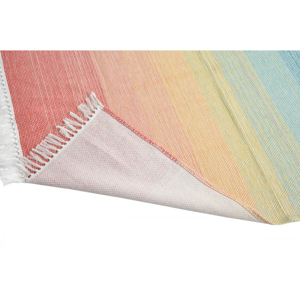 Rainbow Colourful Cotton Throw