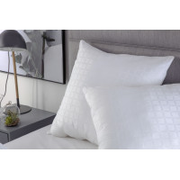 Hotel Suite Quality Clusterball Filled Continental Pillow 65cm x 65cm