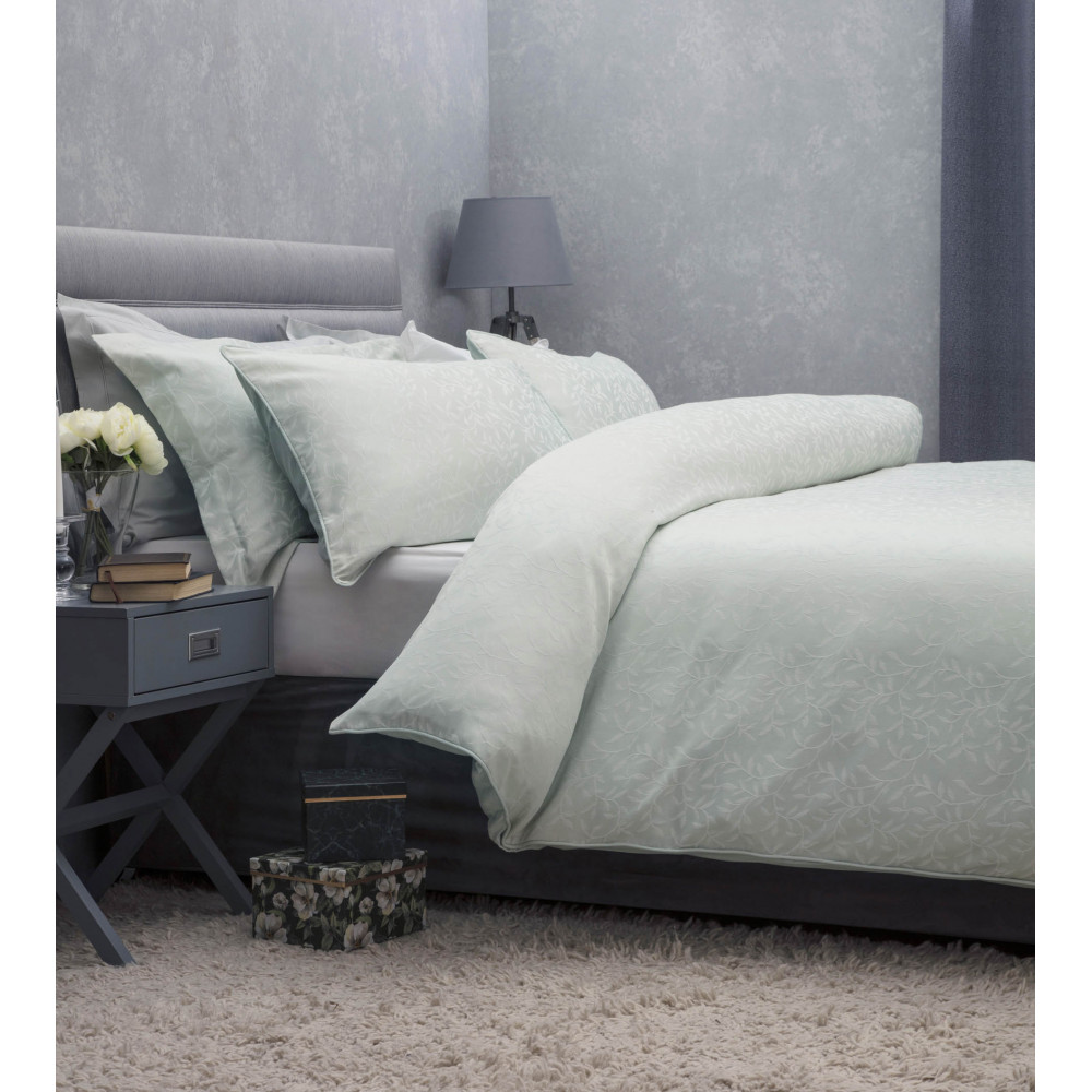 Cotton Rich  Fern Duvet Cover Set in Green