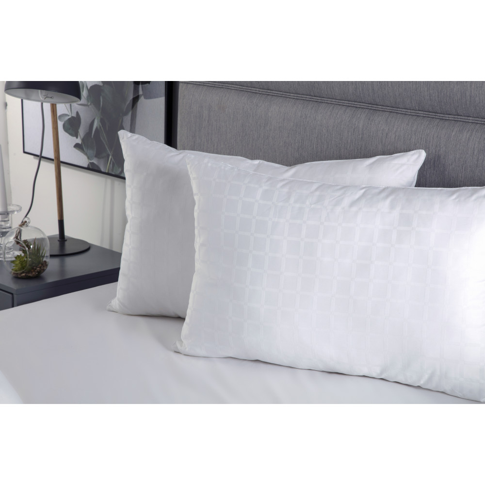 Hotel Suite Quality Clusterball Filled Pillows