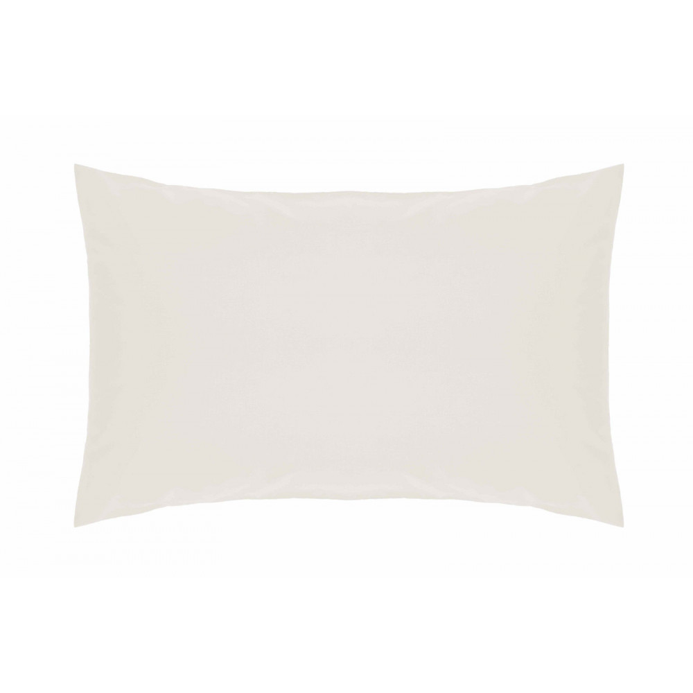 200 Thread Count Pure Combed Cotton Bed Linen In Ivory