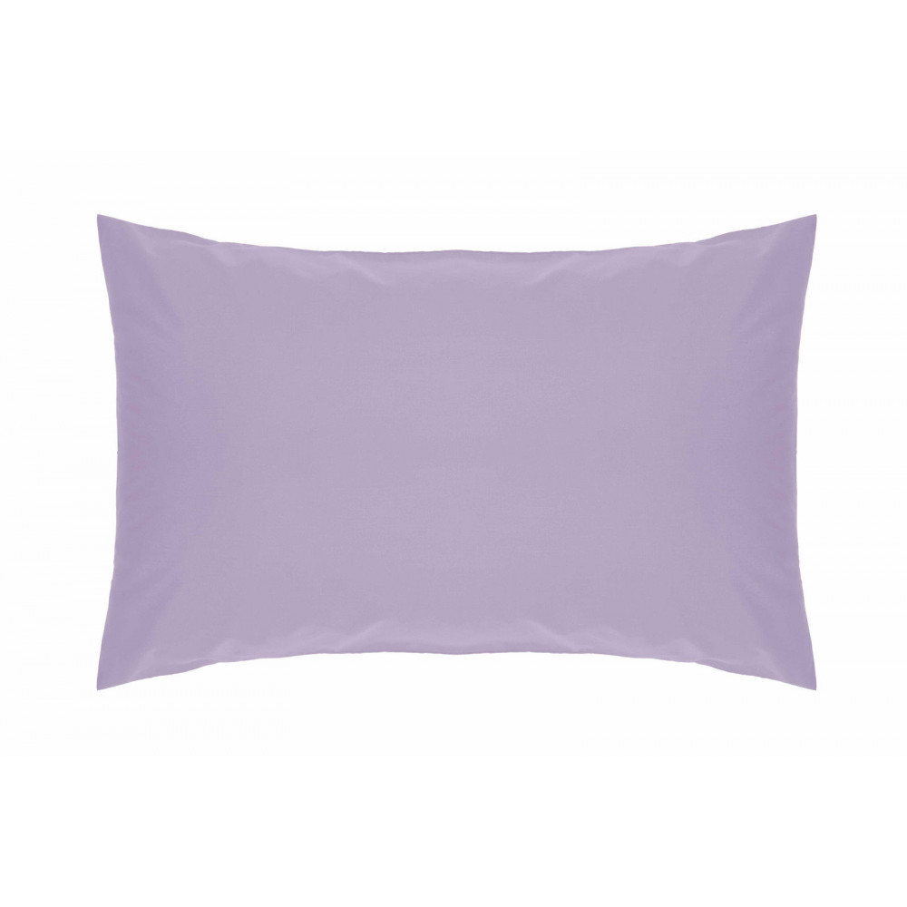 200 Thread Count Pure Combed Cotton Bed Linen In Lilac