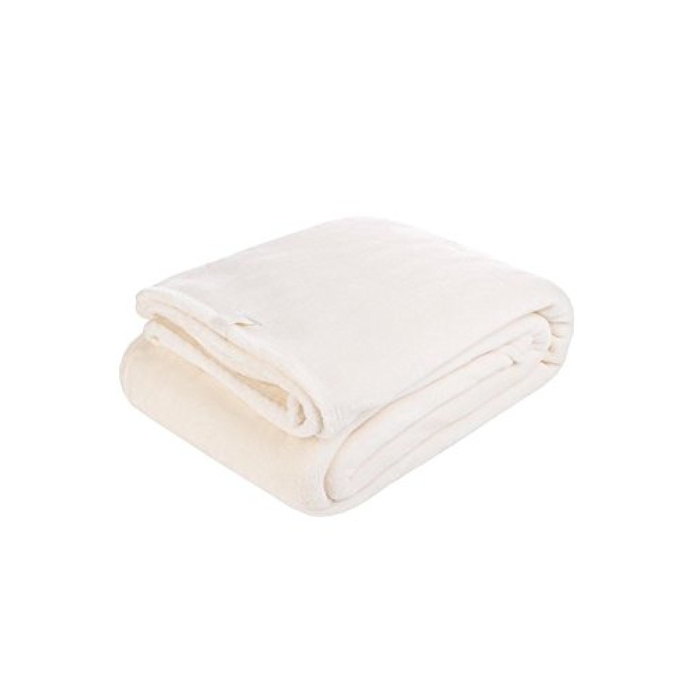 1.7 Tog Heat Holder Blanket in Snowfall Cream