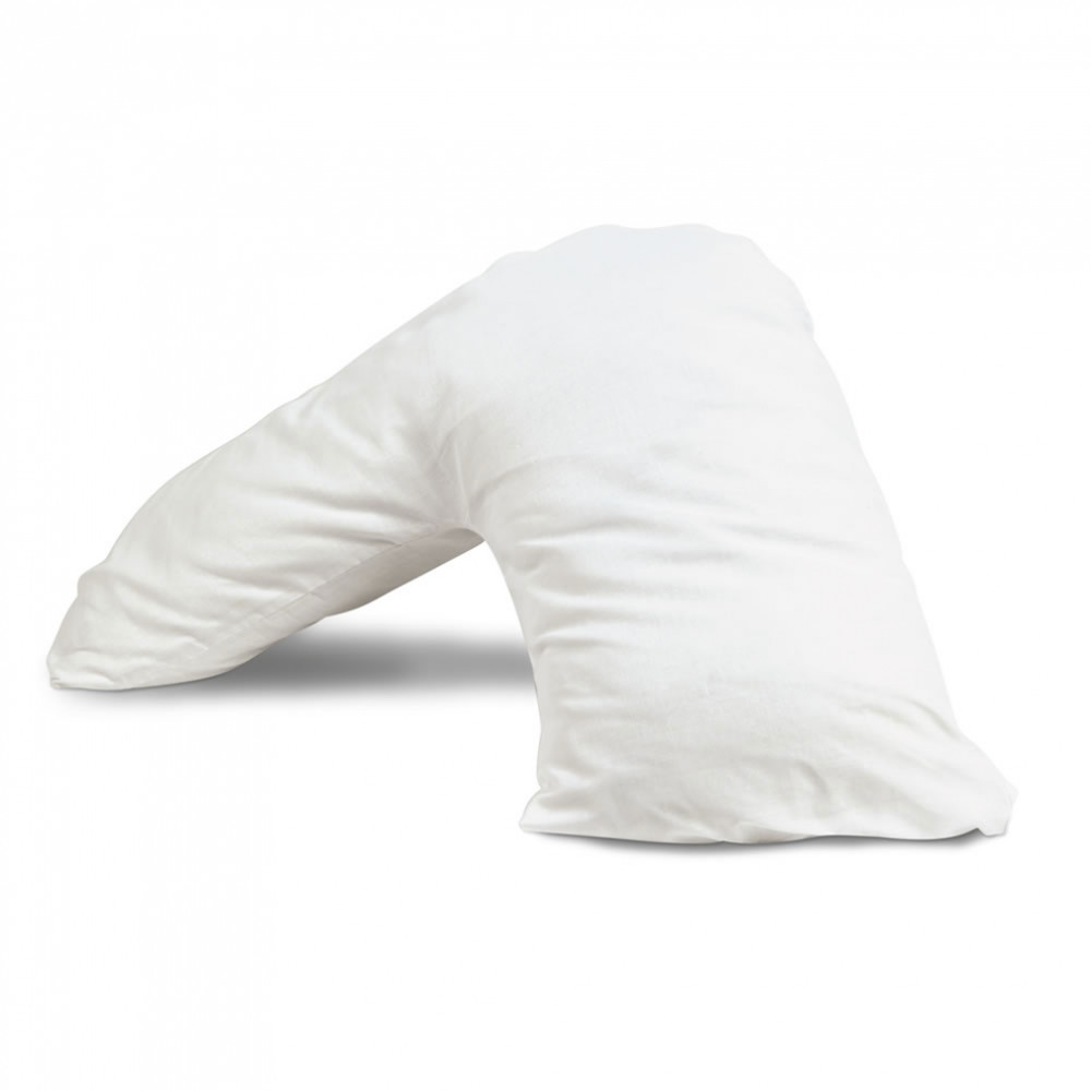 Duck Feather & Down V Shaped Maternity  Pillow