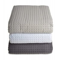100% Cotton Hotel Quality Waffle Weave Throw
