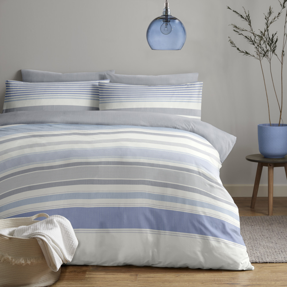 Stripe Design Duvet Cover Set