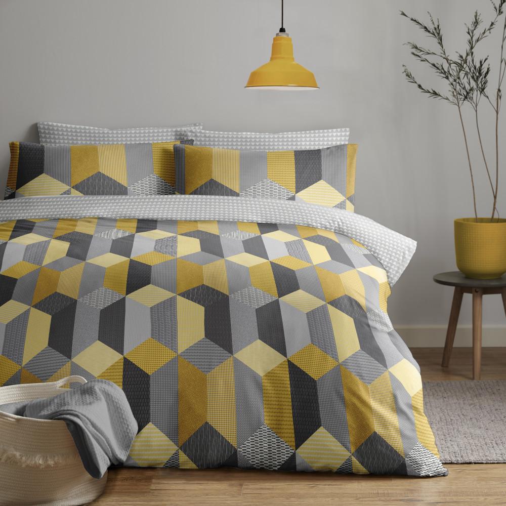 Geometric Design Duvet Cover Set