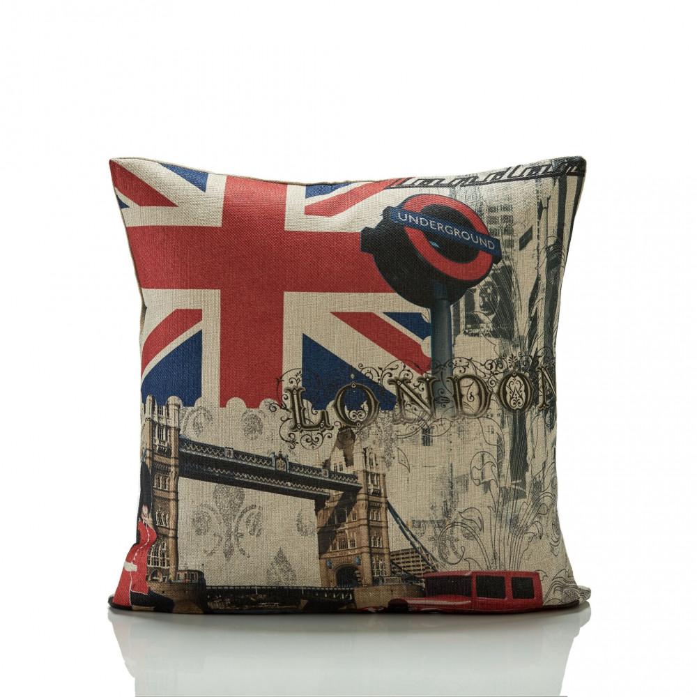 London Underground Bridge Cushion Cover