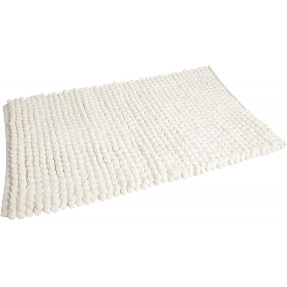 Bobble Bath Mat in White