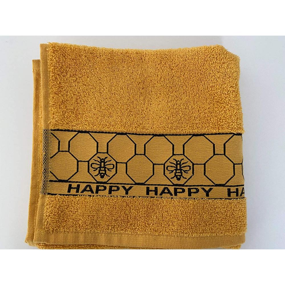 3 Pack Bee Happy Hive Tea Kitchen Towel