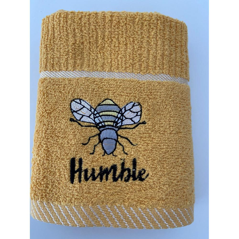 3 Pack Bee Humble Tea Kitchen Towel in Mustard