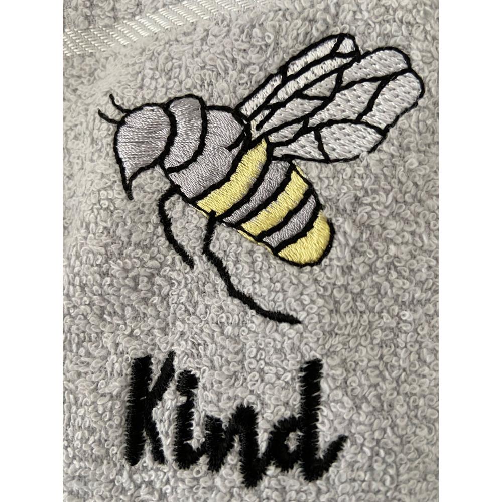 3 Pack Bee Kind Tea Kitchen Towel in Grey