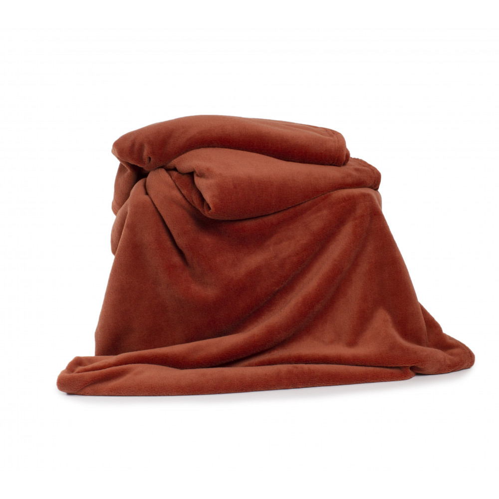 Snuggletouch Supersoft Throw in Chutney