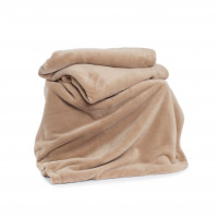 Snuggletouch Supersoft Throw in Pebble