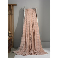 Luxury Supersoft Throw in Pink