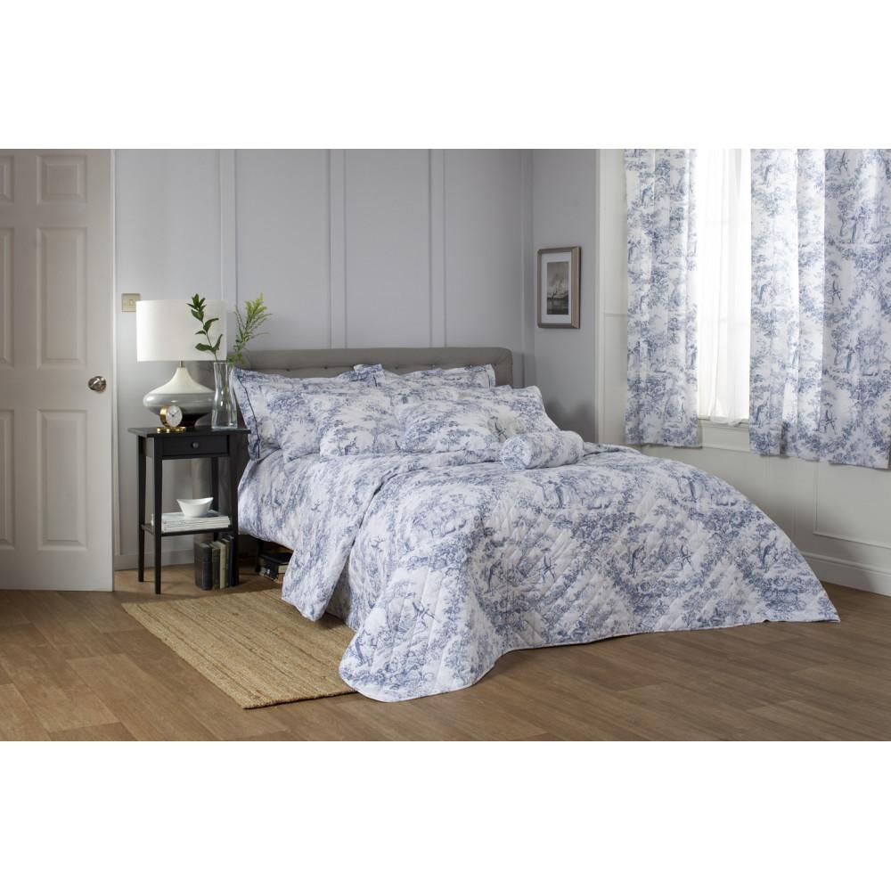 Toile De Jouy in Blue & White