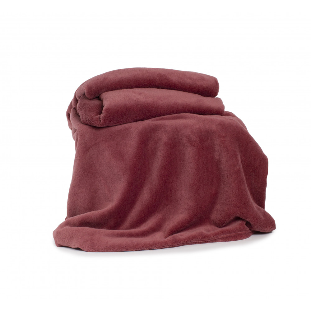 Snuggletouch Supersoft Throw in Rose