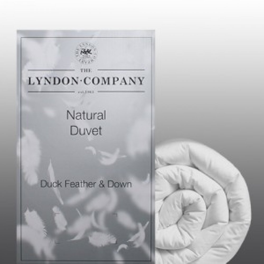 10.5 Tog Duck Feather and Down Duvet by The Lyndon Company