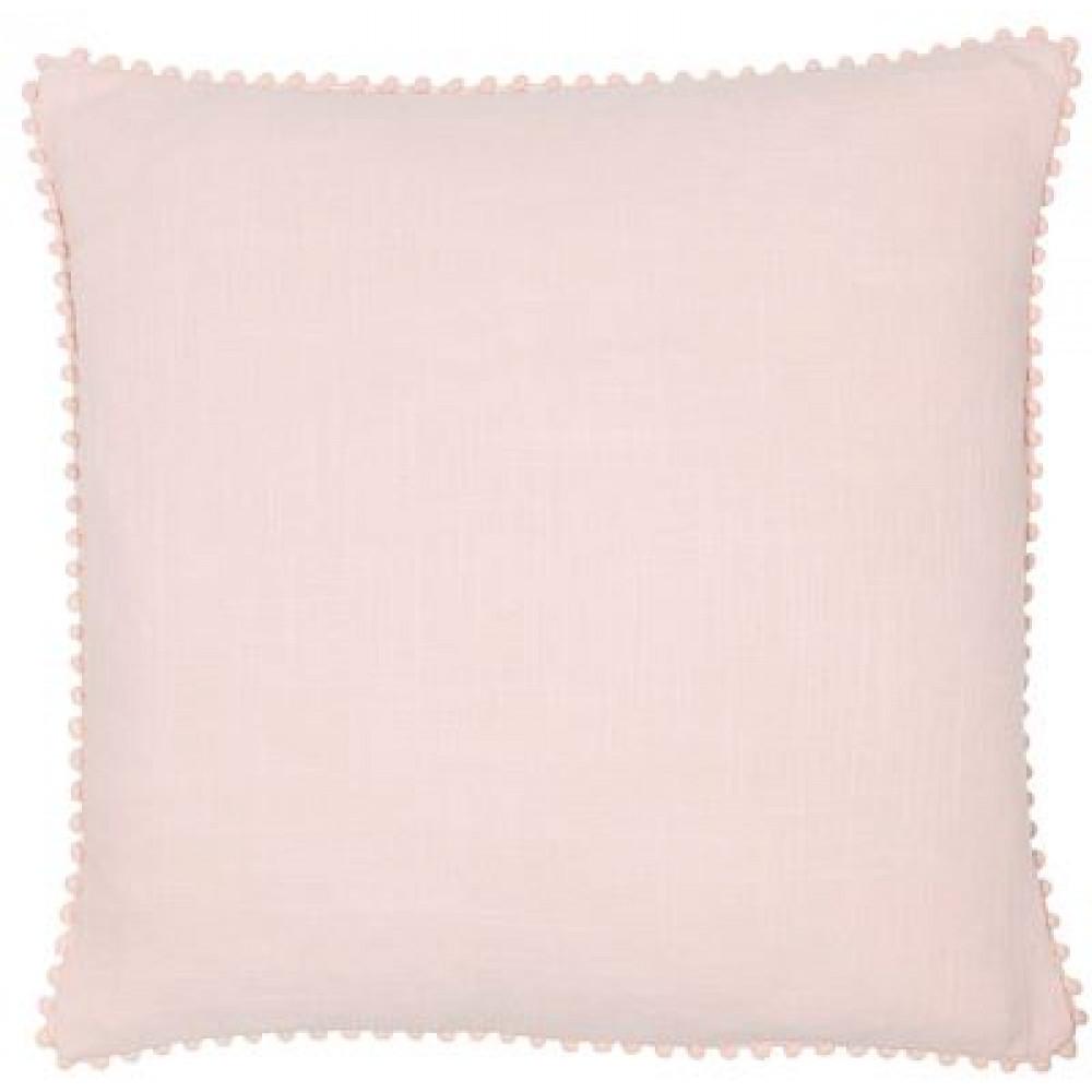 Malini Luxurious Linen Look Cushion in Pink
