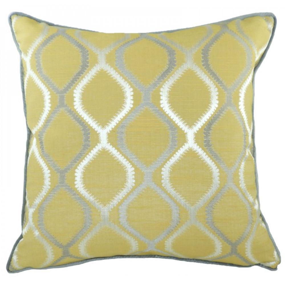 Fawsley Knoll Cushion in Ochre