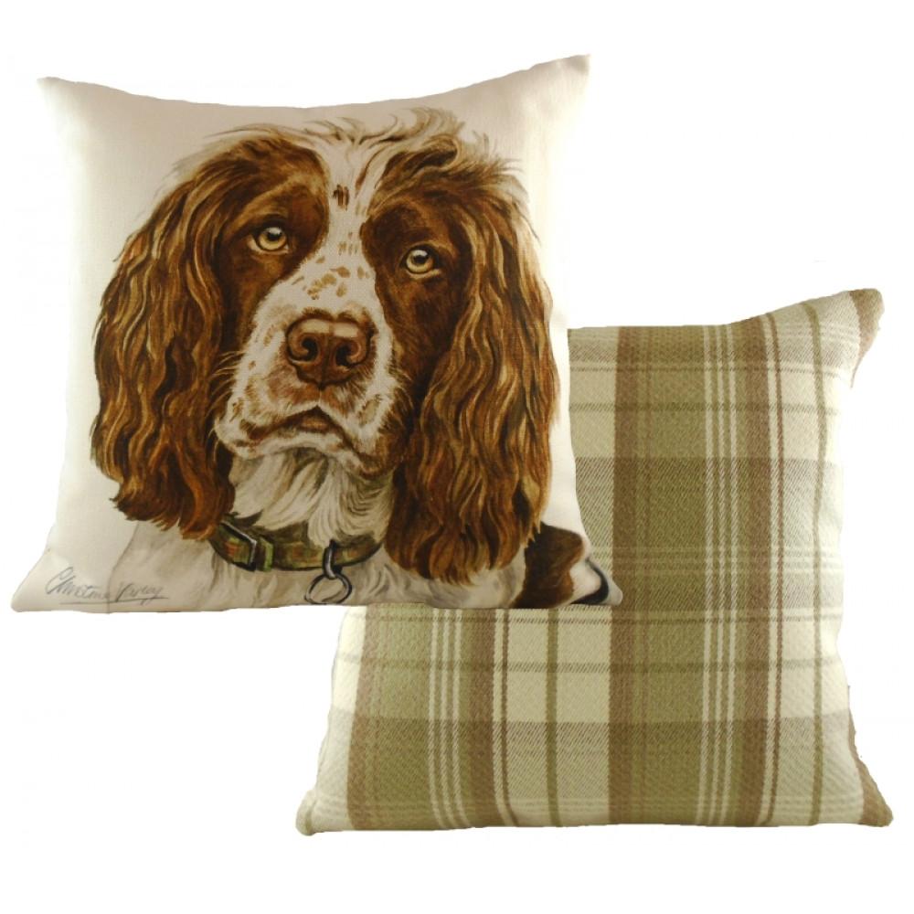Waggy Dogz Springer Spaniel Cushion