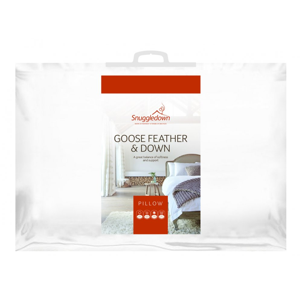 Goose Feather and Down Pillow by Snuggledown
