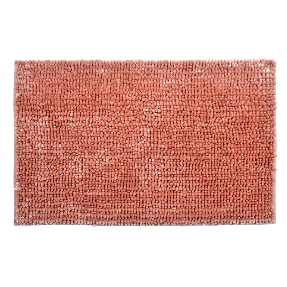 Extra Soft Chenille XL Bath Mat Blush Pink