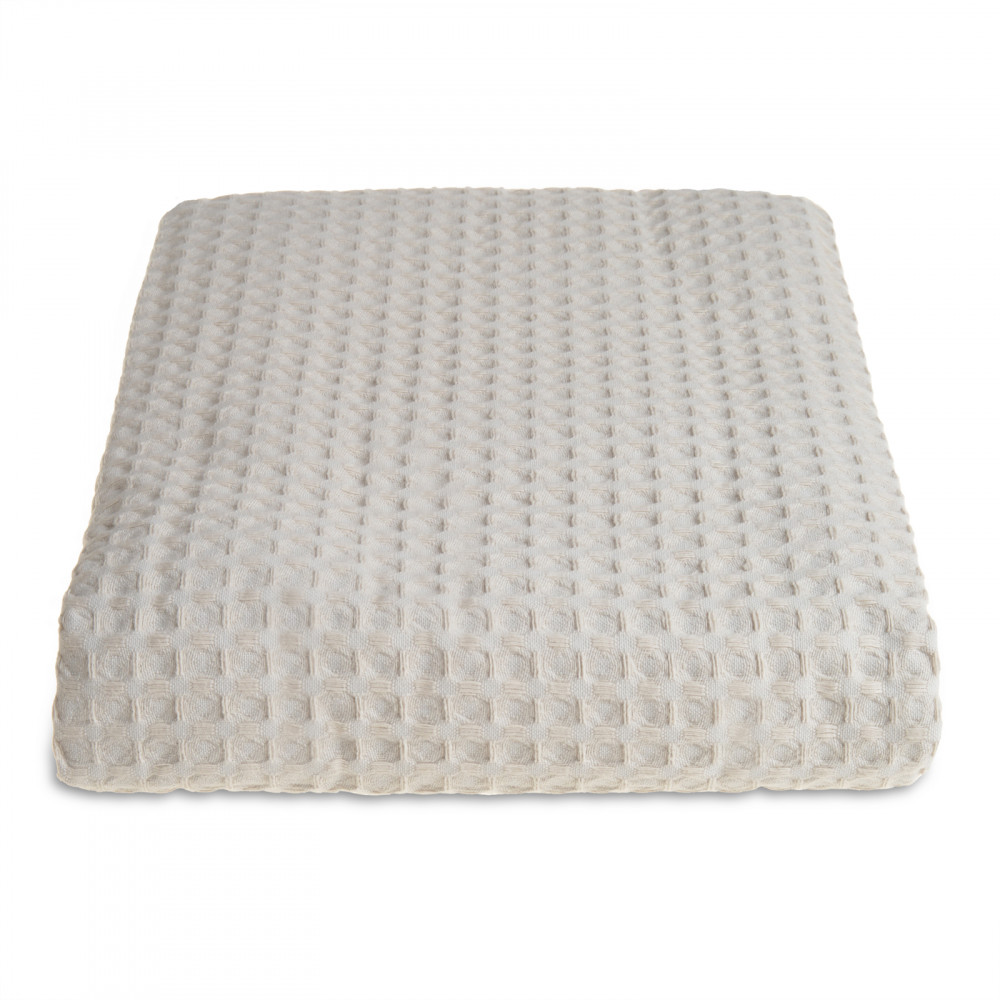 100% Cotton Hotel Waffle Weave Throw Taupe