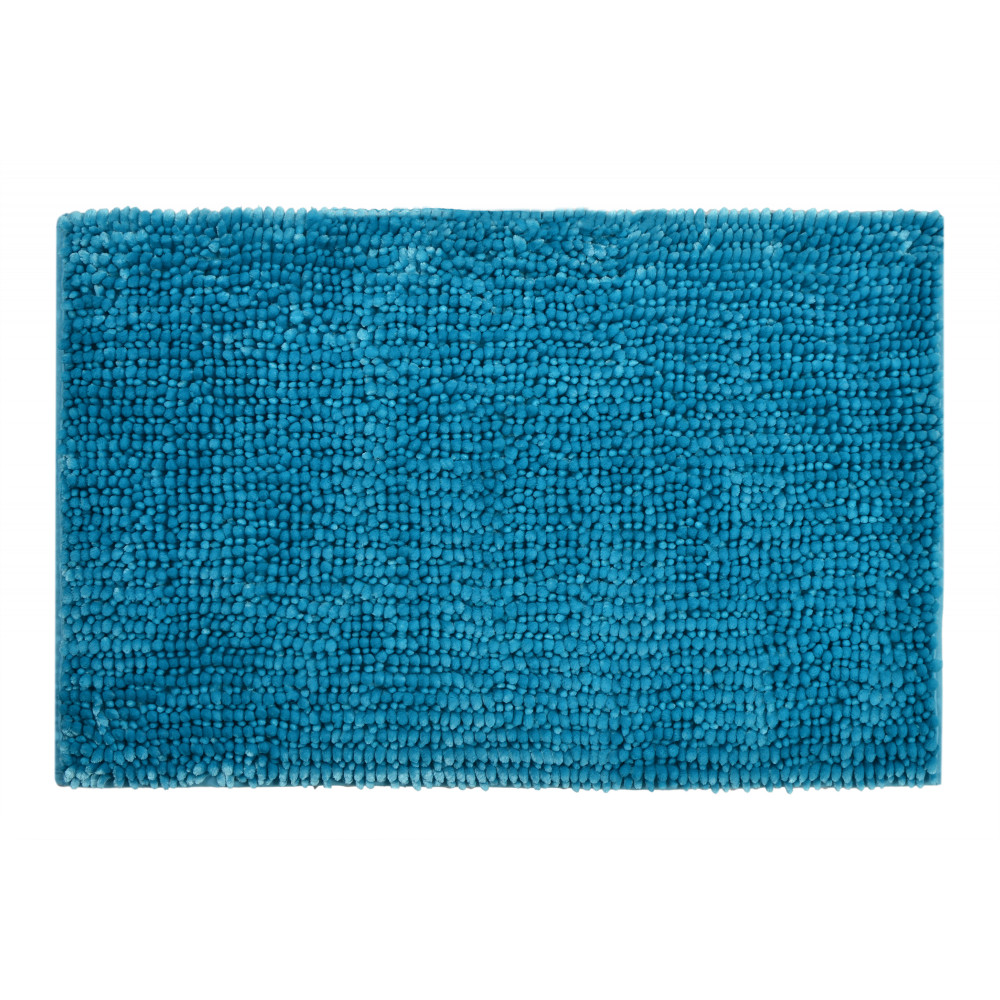 Extra Soft Chenille XL Bath Mat Turquoise