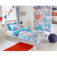 Childrens Robot Designed Bed Linen