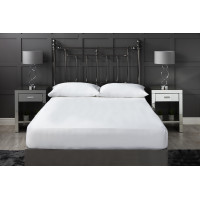 300 Thread Count Cotton Fitted Sheet White