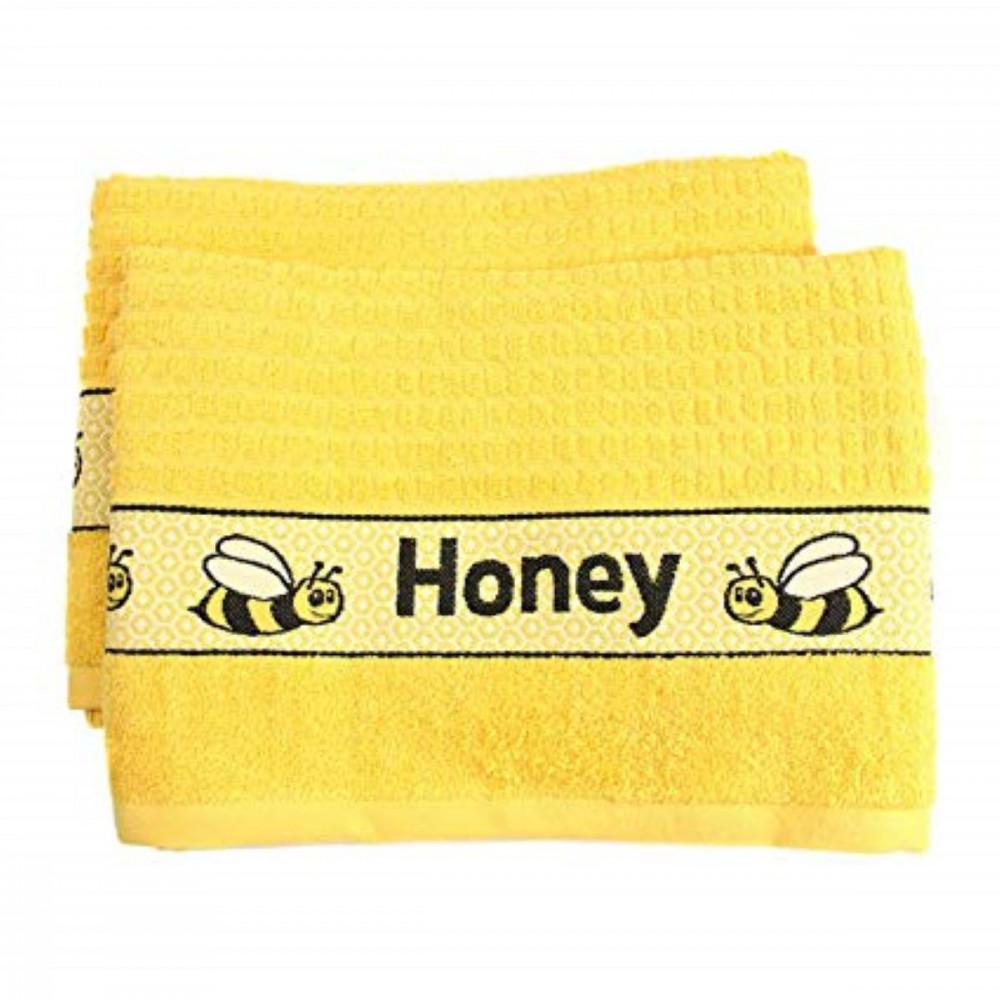 Honey Bee Tea Kitchen Towel