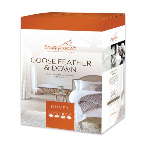 13 5 Tog Goose Feather And Down Duvet Snuggledown Uk Ltd