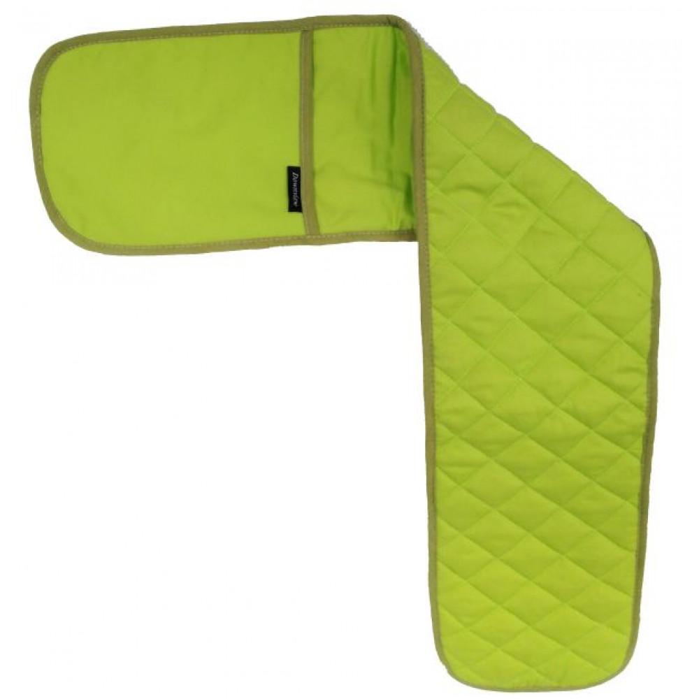 Plain Design Lime Green Oven Gloves
