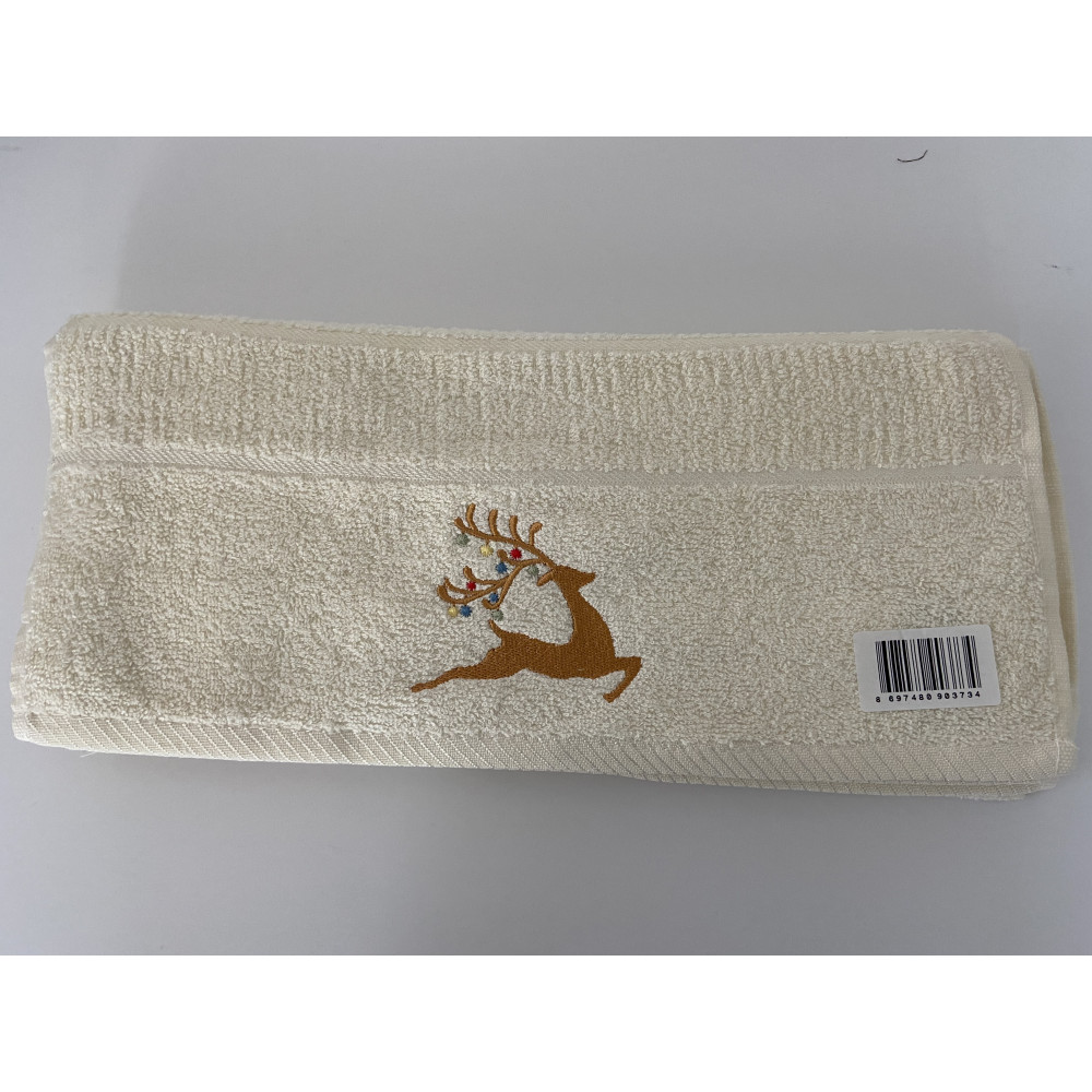 Christmas Stag Kitchen Towel x 3