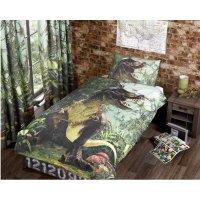 Dinosaur T Rex Designed Bed Linen