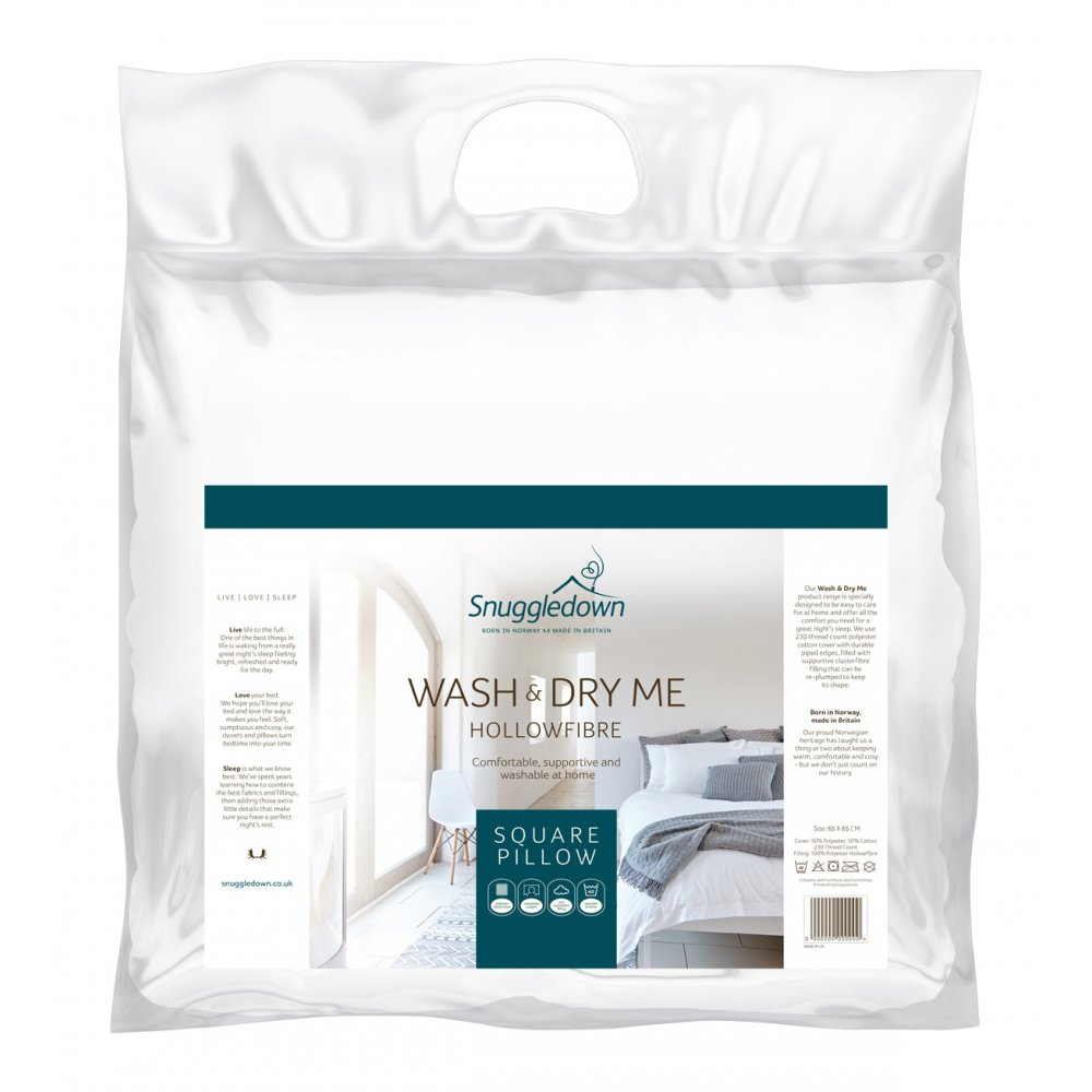 Wash & Dry Me Pillow Range
