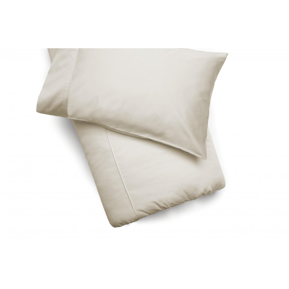 450 Thread Count Pima Cotton Duvet Cover in Ivory