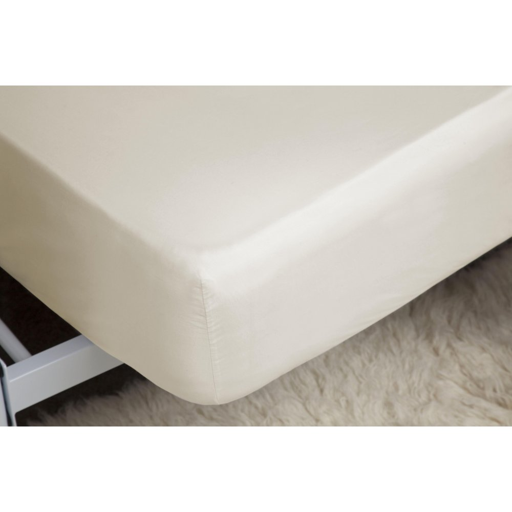 450 Thread Count Pima Cotton Deep Fitted Sheet in Ivory