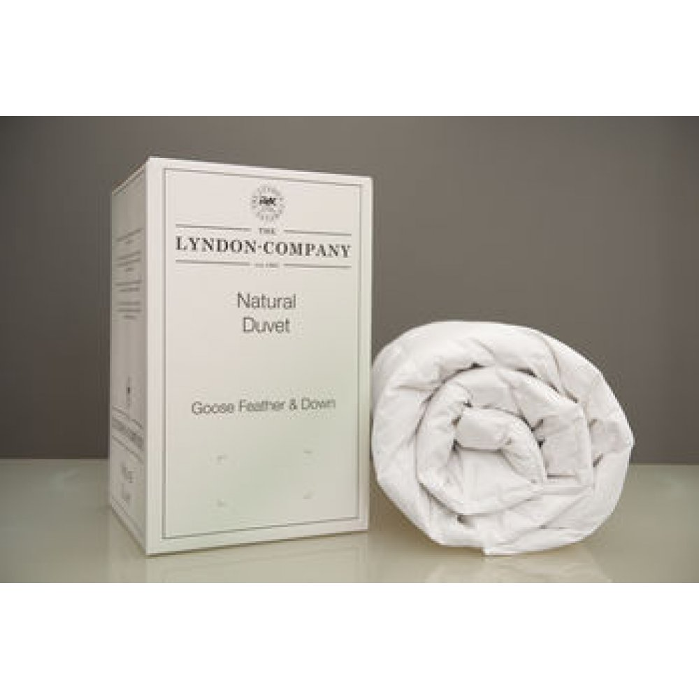 10.5 Tog Goose Feather and Down Duvet by The Lyndon Company