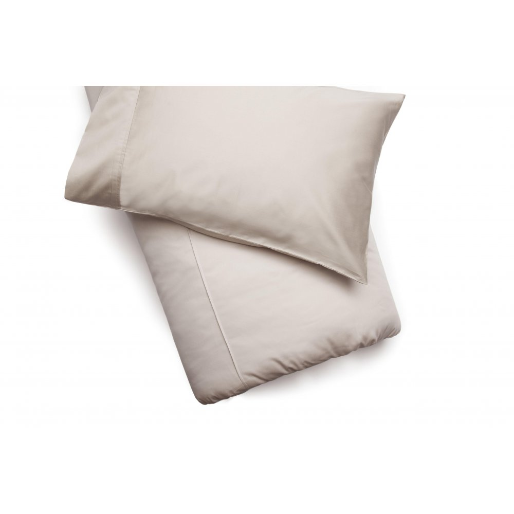450 Thread Count Pima Cotton Duvet Cover in Oyster