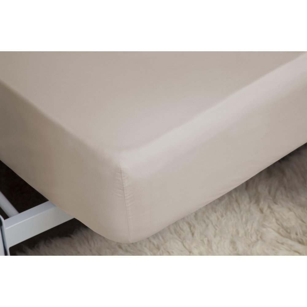 450 Thread Count Pima Cotton Deep Fitted Sheet in Oyster