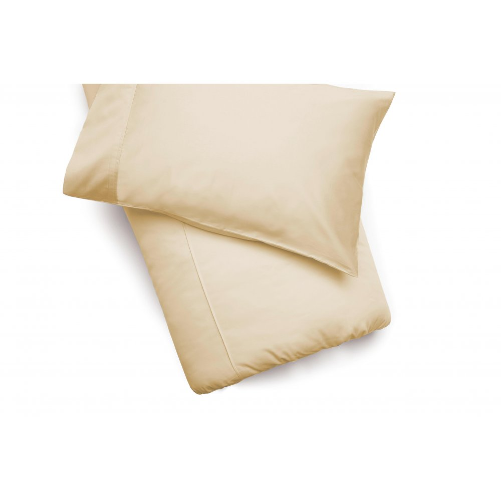 450 Thread Count Pima Cotton Duvet Cover in Sahara Sand